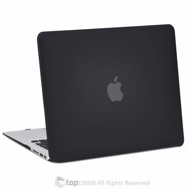 "TOP CASE 4 in 1 - Macbook Air 13"" Matte Case + Sleeve + Keyboard Skin + LCD - BLACK"