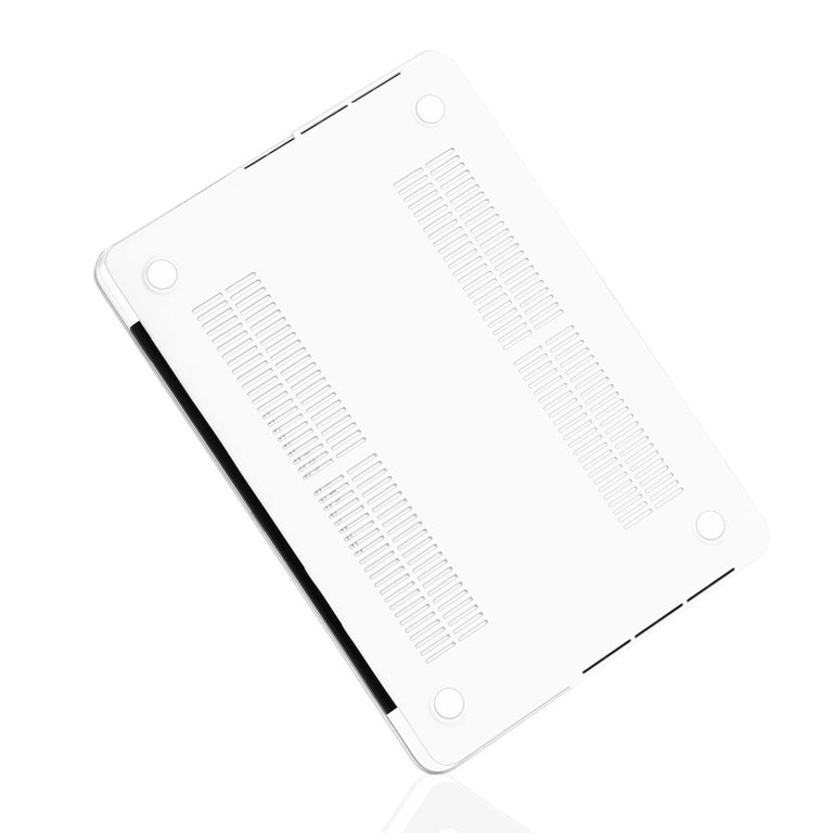 "TOP CASE - 4 in 1 Matte Hard Case,Keyboard Cover,Sleeve Bag,Screen Protector Compatible With MacBook Pro 13"" A1989,A1706 with Touch Bar(Release 2017,2016,2018) - White"