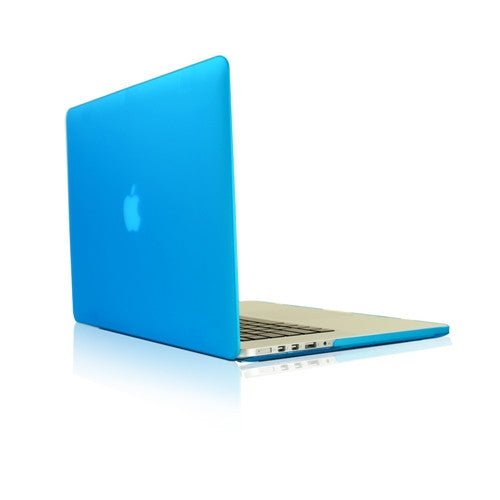 "Aqua Rubberized Case for NEW Macbook Pro 13"" A1425/A1502 with Retina display - TOP CASE"