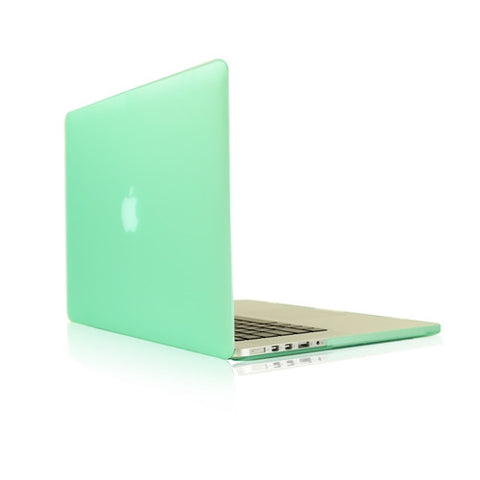 "Green Rubberized Hard Case for NEW Macbook Pro 15"" A1398 with Retina display - TOP CASE"
