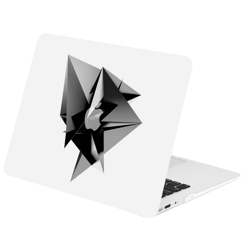 TOP CASE - Geometric 3D Diamond Graphics Rubberized Hard Case Cover for MacBook Air 13""