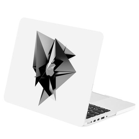 TOP CASE - Geometric 3D Diamond Graphics Rubberized Hard Case Cover for Macbook Retina 13""