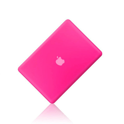 Rubberized HOT PINK Hard Case Cover for Macbook PRO 13 A1278