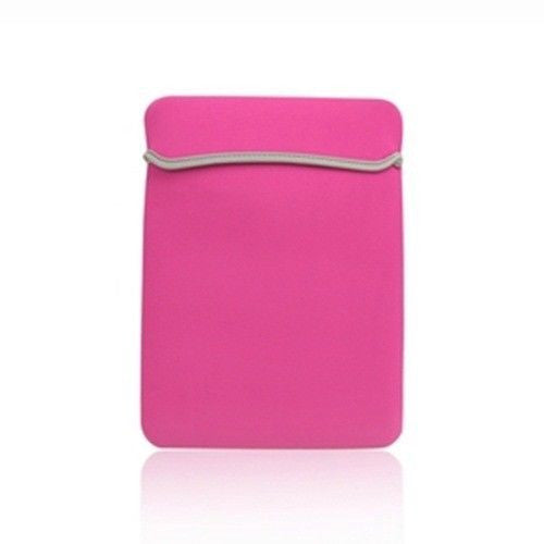 "Sleeve Bag Hot Pink Cover Case for Laptop 15"" Macbook Pro"