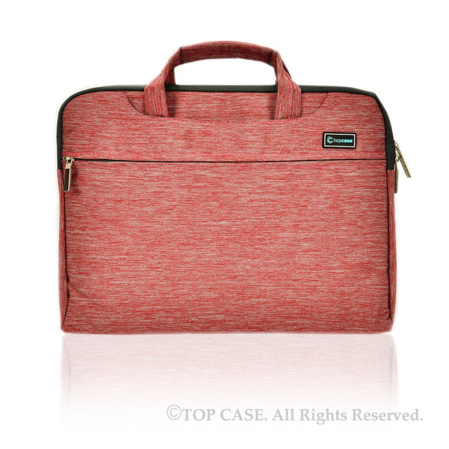 "Red Nylon Lycra Fabric Carrying Sleeve Bag Briefcase for 11"" 11-Inch Apple Macbook Air"