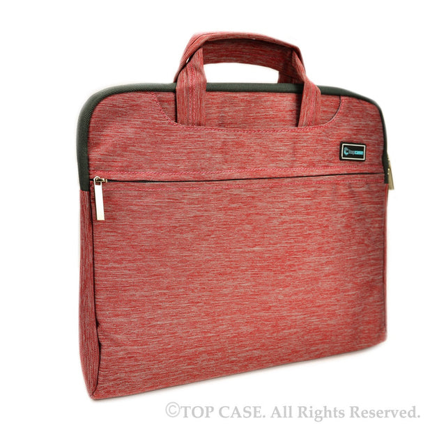 "Red Nylon Lycra Fabric Carrying Sleeve Bag Briefcase for 12"" 12-Inch Apple Macbook"