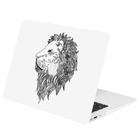 "TOP CASE - Vector Pattern Rubberized Hard Case Cover for MacBook Air 13"" - Lion"