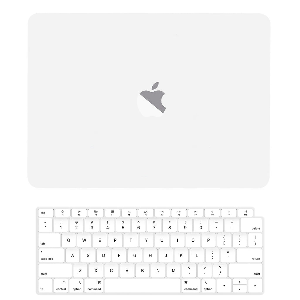 7c1b1a0ea1f4 TOP CASE - 2 in 1 Rubberized Hard Case + Keyboard Cover Compatible with  2018 Release Apple MacBook Air 13 Inch with Retina Display fits Touch ID ...