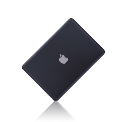 "Black Rubberized Hard Case Cover for Apple Macbook PRO 13"" 13.3 (A1278) - TOP CASE"