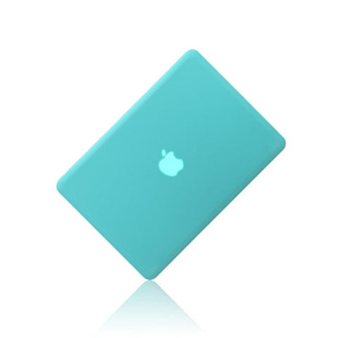 "Rubberized TIFFANY BLUE Hard Case for Macbook PRO 13"" A1278"