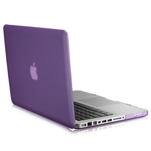 "Rubberized PURPLE Hard Case Cover for Apple Macbook PRO 15"" (A1286)"