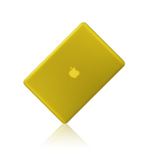 "Yellow  Rubberized Hard Case Cover for Apple Macbook PRO 13"" 13.3 (A1278)"