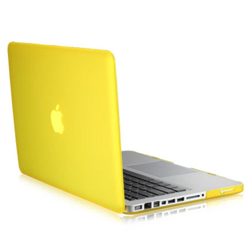 "Rubberized YELLOW Hard Case Cover for Apple Macbook PRO 15"" (A1286)"
