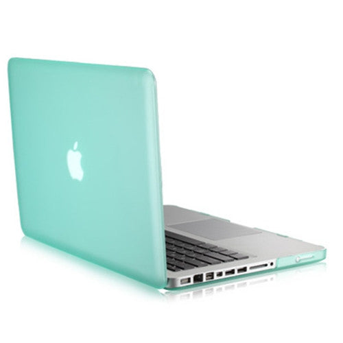 "Rubberized GREEN Hard Case Cover for Apple Macbook PRO 15"" (A1286)"