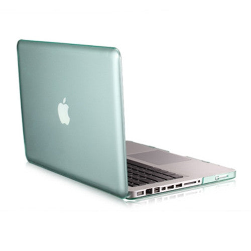 "Green Crystal Hard Case Cover for NEW Macbook Pro 15"" A1398 with Retina display - TOP CASE"