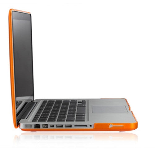 "Orange Crystal Hard Case Cover for NEW Macbook Pro 15"" A1398 with Retina display - TOP CASE"
