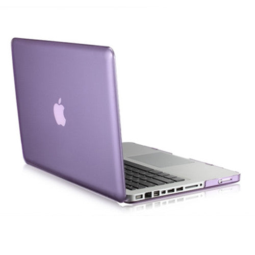 "PURPLE Crystal Hard Case Cover for Macbook PRO 15"" A1286"