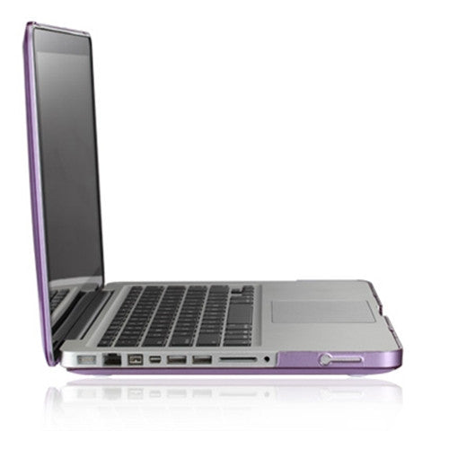 "Purple Crystal Hard Case Cover for Macbook Pro 15"" A1398 with Retina display"