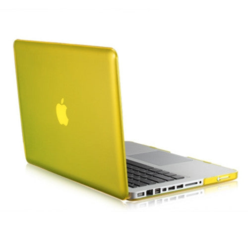 "Yellow Crystal Hard Case Cover for Macbook Pro 15"" A1398 with Retina display"