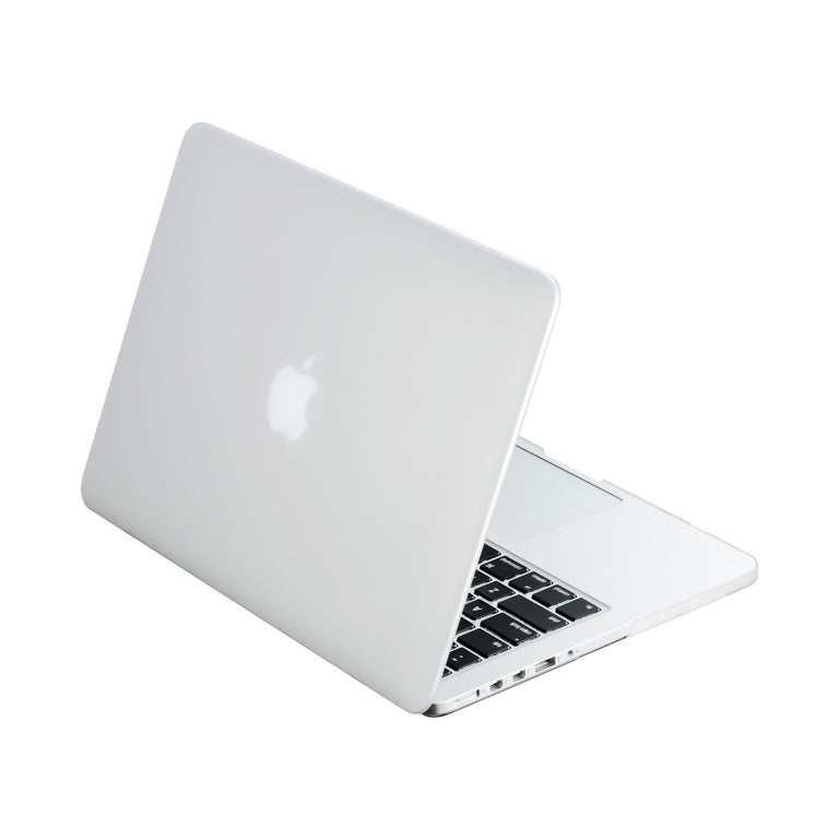 new style 5b8e1 aebc9 Clear Rubberized Hard Case Cover for MacBook Pro 13