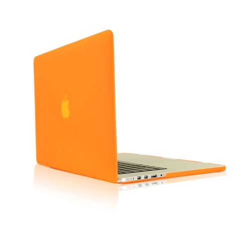 "ORANGE Rubberized Case for NEW Macbook Pro 13"" A1425/A1502 with Retina display - TOP CASE"