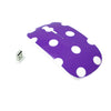 Polka Dot Design Purple USB Optical Wireless Mouse for Macbook (pro , air) and All Laptop - TOP CASE