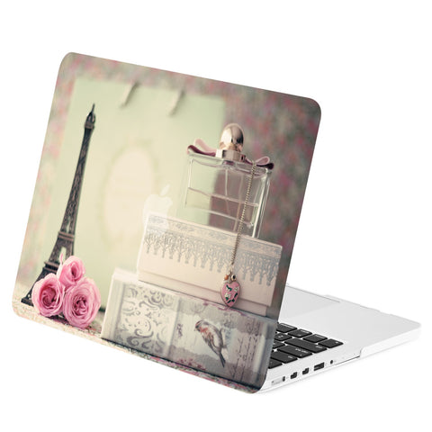 "TOP CASE - Paris in Air Graphics Rubberized Hard Case Cover for Macbook Pro 15"" with Retina"