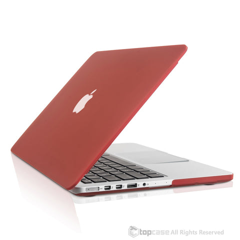 "Wine Red Rubberized Case for Macbook Pro 13"" A1425/A1502 with Retina display"