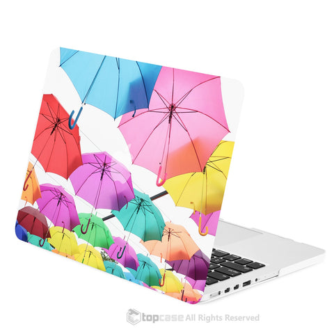 "TOP CASE - Art Printing Series Hard Case Cover for Macbook Pro 13"" with Retina Displa - Umbrella Sky"