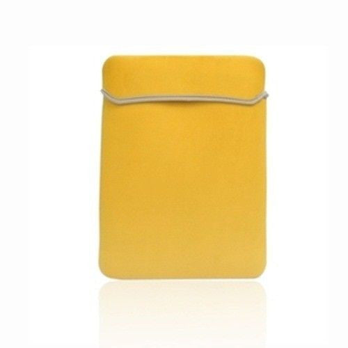 "Sleeve Bag Yellow Cover Case for Laptop 15"" Macbook Pro"