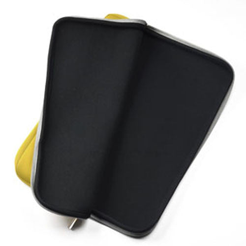 "Zipper Yellow Sleeve Bag Cover for Macbook 12"" 12-Inch Model: A1534 Retina Noteboook"