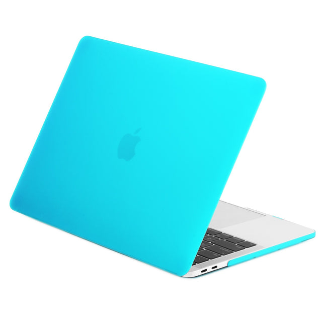 TOP CASE - Rubberized Matte Hard Case Cover for MacBook Pro 15-inch A1707/ A1990 with Touch Bar( Release 2016/17/18 )