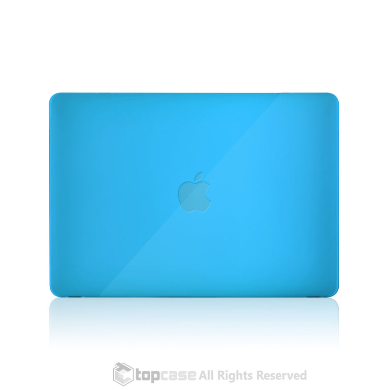 "Apple the New Macbook 12-Inch 12"" Retina Display Laptop Computer Aqua Blue Crystal Hard Shell Case Cover for Model A1534 (Newest Version 2015) - TOP CASE"