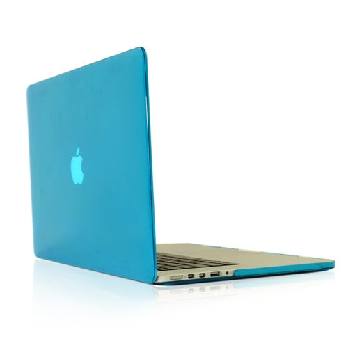 "AQUA Crystal Hard Case Cover for NEW Macbook Pro 15"" A1398 with Retina display - TOP CASE"