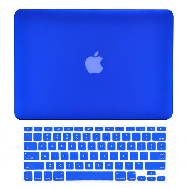 "TOP CASE - 2 in 1 MacBook Pro RETINA 15""  Hard Cover + Keyboard Skin - ROYAL BLUE"