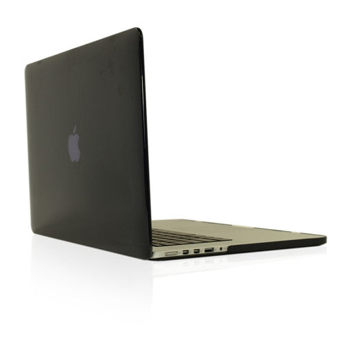 "Black Crystal Hard Case Cover for NEW Macbook Pro 13"" A1425/A1502 with Retina display - TOP CASE"