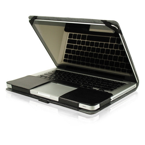 "Leather Case Black Cover Bag for Apple Macbook PRO 13"" A1278"
