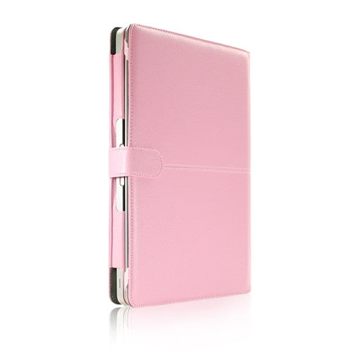 "Leather Case Pink Cover Bag for Apple Macbook PRO 13"" A1278"