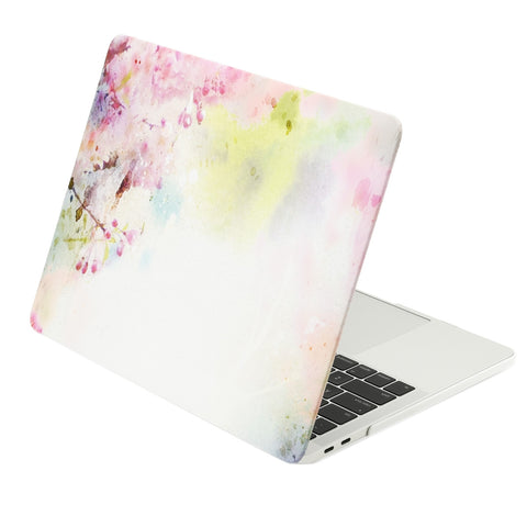 TOP CASE - Macbook Pro 13 Case 2016, Matte Hard Case Cover for MacBook Pro 13-inch A1706 / A1708 with / without Touch Bar ( Release Oct 2016 ) - Cherry Blossom