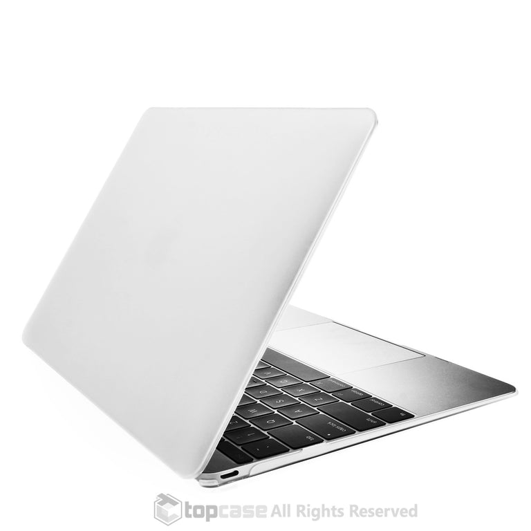 "Apple the New Macbook 12-Inch 12"" Retina Display Laptop Computer Clear Rubberized Hard Shell Case Cover for Model A1534 (Newest Version 2015) - TOP CASE"