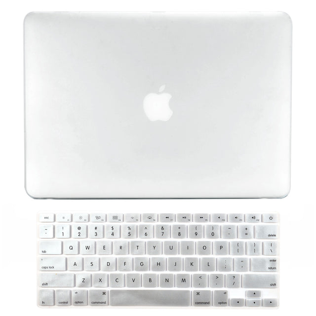 "TOP CASE - 2 in 1 MacBook Pro RETINA 15"" Hard Cover + Keyboard Skin - CLEAR"