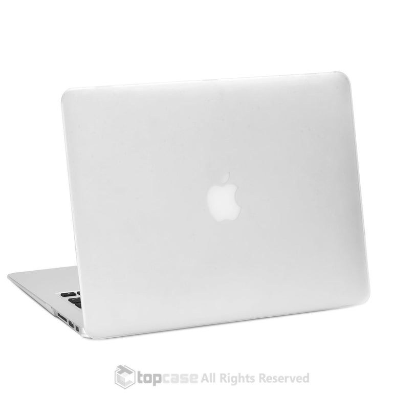 "Rubberized CLEAR Hard Case for Macbook Air 13"" A1369 and A1466"