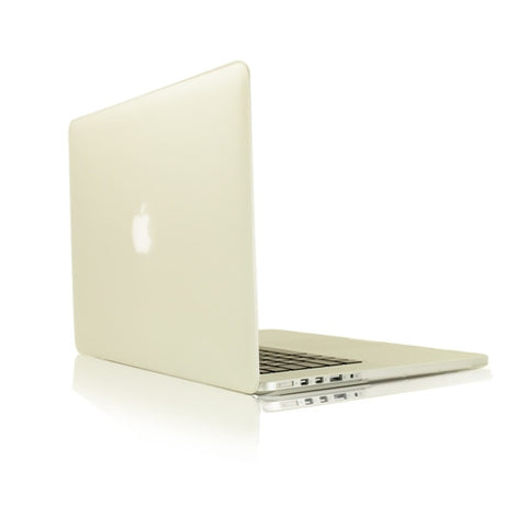 "Clear Rubberized Hard Case for Macbook Pro 15"" A1398 with Retina display"