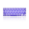 "Dark Purple Keyboard Silicone Cover Skin for Macbook Air 11"" Model: A1465"