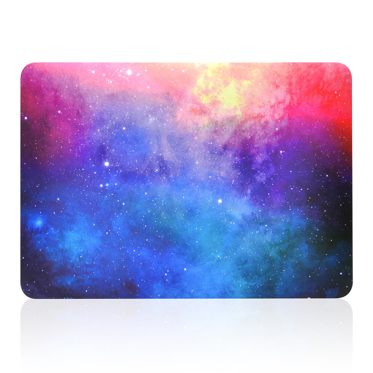 "Pink Galaxy Graphic Rubberized Hard Case for MacBook Air 13"" Model A1369 and A1466"