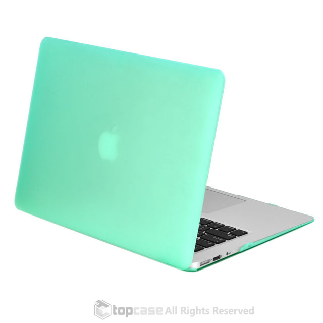 "Rubberized Green Hard Case for Macbook Air 13"" A1369 and A1466"