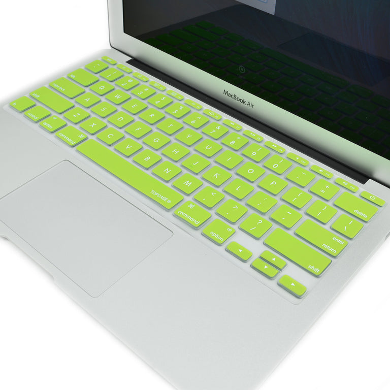 "Lime Green Keyboard Silicone Cover Skin for New Macbook Air 11"" Model: A1465 - TOP CASE"