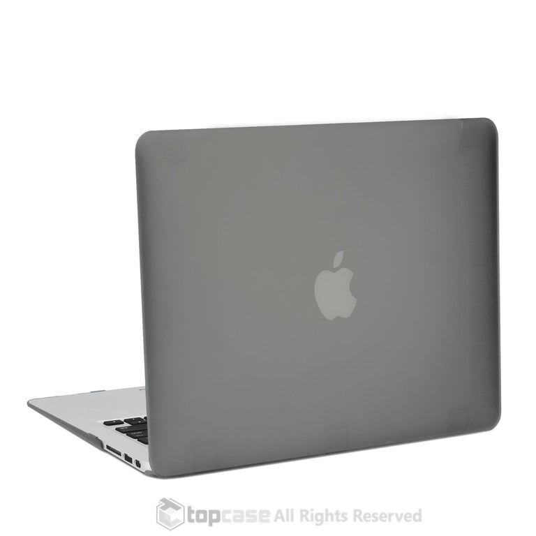 "Rubberized Grey Hard Case for Macbook Air 13"" A1369 and A1466"