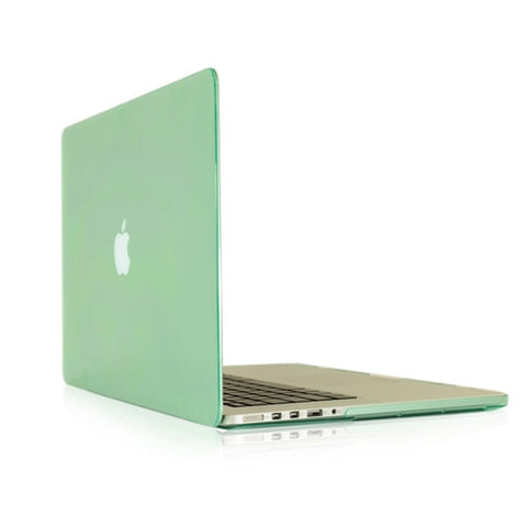 "Green Crystal Hard Case Cover for NEW Macbook Pro 13"" A1425/A1502 with Retina display - TOP CASE"