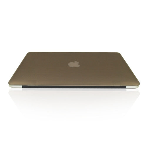 "Grey Rubberized Hard Case for Macbook Pro 15"" A1398 with Retina display"
